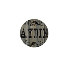 Aydin, Western Themed Mini Button