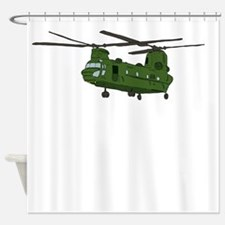 Chinook Helicopter Shower Curtain