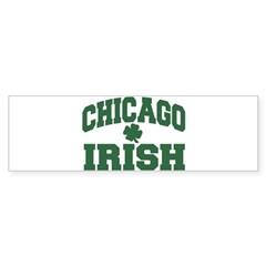 Chicago Irish Bumper Bumper Sticker