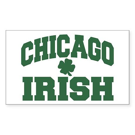 Chicago Irish Rectangle Sticker