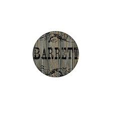 Barrett, Western Themed Mini Button