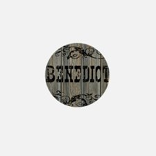 Benedict, Western Themed Mini Button
