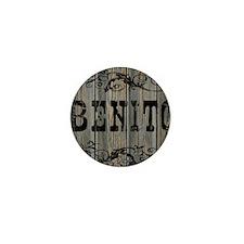 Benito, Western Themed Mini Button