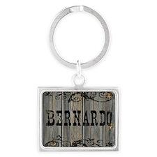 Bernardo, Western Themed Landscape Keychain