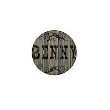 Benny, Western Themed Mini Button