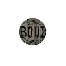 Bode, Western Themed Mini Button