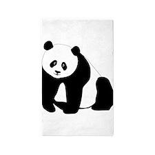 Panda Bear 3'x5' Area Rug