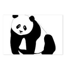 Panda Bear Postcards (Package of 8)