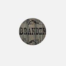 Branden, Western Themed Mini Button