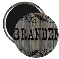 Branden, Western Themed Magnet