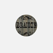 Braiden, Western Themed Mini Button