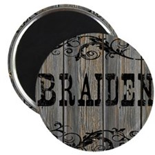Braiden, Western Themed Magnet