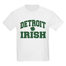 Detroit Irish Kids T-Shirt