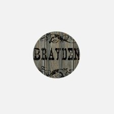 Brayden, Western Themed Mini Button