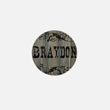 Braydon, Western Themed Mini Button