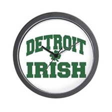 Detroit Irish Wall Clock