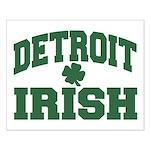 Detroit Irish Small Poster
