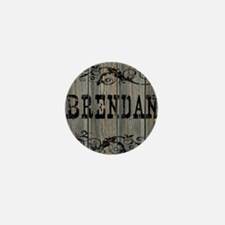 Brendan, Western Themed Mini Button