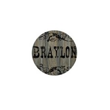 Braylon, Western Themed Mini Button