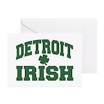 Detroit Irish Greeting Cards (Pk of 10)