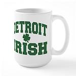 Detroit Irish Large Mug