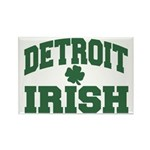 Detroit Irish Rectangle Magnet