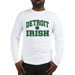 Detroit Irish Long Sleeve T-Shirt