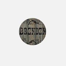 Brenden, Western Themed Mini Button