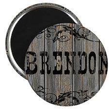 Brendon, Western Themed Magnet