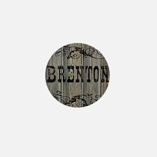Brenton, Western Themed Mini Button