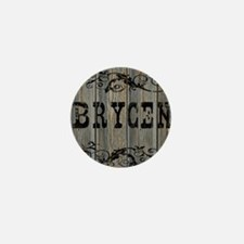 Brycen, Western Themed Mini Button