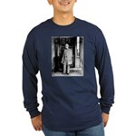 Lee portrait Long Sleeve Dark T-Shirt