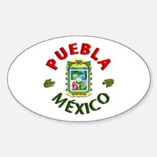 Puebla Oval Decal