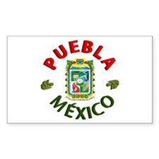 Puebla Rectangle Decal