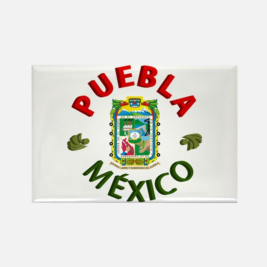 Puebla Rectangle Magnet
