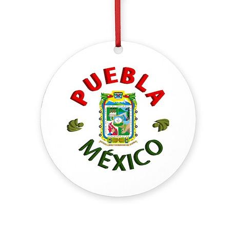 Puebla Ornament (Round)