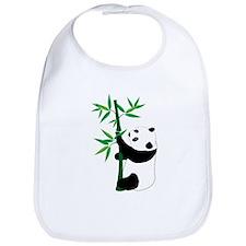 Panda Climbing Bamboo Bib