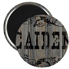 Caiden, Western Themed Magnet