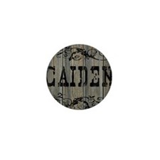 Caiden, Western Themed Mini Button