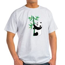 Panda Climbing Bamboo T-Shirt