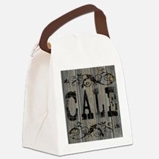 Cale, Western Themed Canvas Lunch Bag