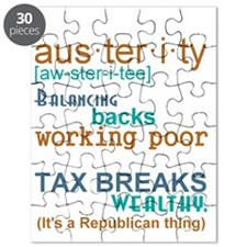 Austerity Republican Thing Puzzle