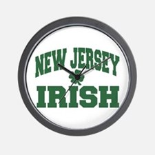 New Jersey Irish Wall Clock