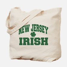 New Jersey Irish Tote Bag