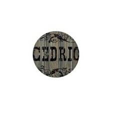 Cedric, Western Themed Mini Button