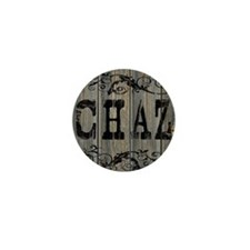 Chaz, Western Themed Mini Button
