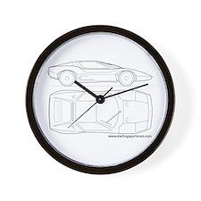Sports Cars Wall Clock