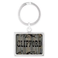 Clifford, Western Themed Landscape Keychain