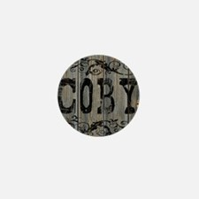 Coby, Western Themed Mini Button