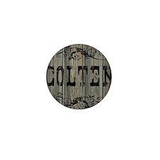 Colten, Western Themed Mini Button